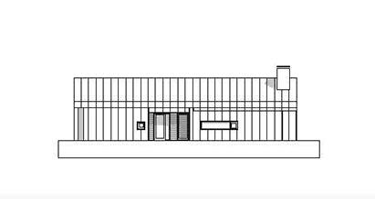 Fasadetegning Malm 84
